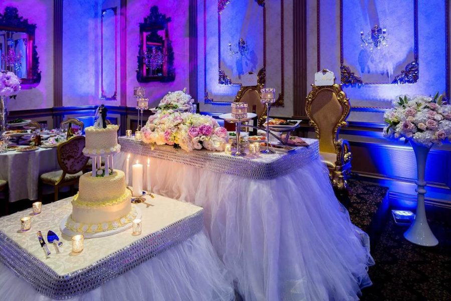 wedding decoration and flowers